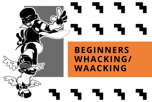 BEGINNERS WHACKING/ WAACKING featuring THE POSE/POSING Music by C MINOR & SUBTITLES BY MAX WOO (over-dub TRIED by Brian Green..lolol)