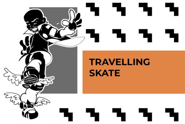 TRAVELING SKATE with Music & audio adjustments by C MINOR