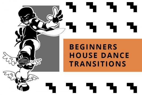 House Dance Transitions BEGINNERS | Filmed/Edited By Max Woo with MUSIC by C MINOR